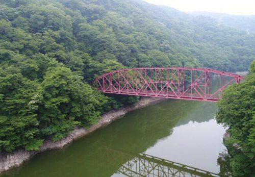 ドローン撮影イメージ/広島県帝釈峡